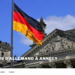 Delphine Duhoux cours d'allemand à Annecy