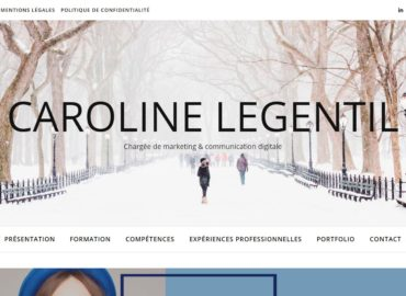 Caroline Legentil, chargée de marketing & communication digitale