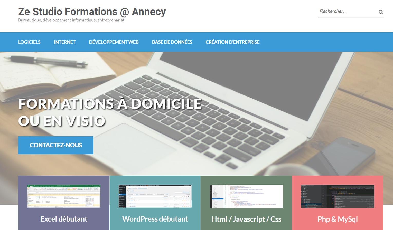 Formations informatiques à Annecy, bureautique et développement web
